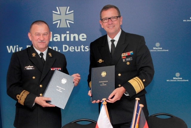 "The German and the Polish Navy signed an agreement that will lead to the establishment of a joint ""Submarine Operating Authority"". The latest rapprochement builds on the 1999 military cooperation agreement and the 2013 maritime collaboration agreement."