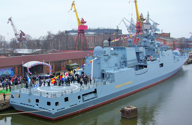 The second Project 11356 frigate Admiral Essen has completed state trials with Russia's Northern Fleet and will join the Russian Navy in late May, the Yantar Shipyard's press office said on Tuesday. The Yantar Shipyard is a subsidiary of Russia's United Ship-Building Corporation.