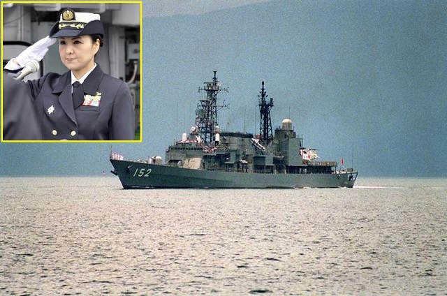 The Japan Maritime Self-Defense Force (JMSDF) appointed Commander Miho Otani as the commanding officer aboard Asagiri-class destroyer Yamagiri (DD-152) on 29 February 2016. Cmdr. Otani becomes the first woman to command a major surface combatant ship in the JMSDF.