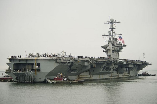 Huntington Ingalls Industries announced today that its Newport News Shipbuilding division has received a contract option from the U.S. Navy to assist with planning for the refueling and complex overhaul (RCOH) of the aircraft carrier USS George Washington (CVN 73).