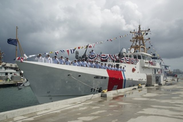 The United States Coast Guard commissioned its 16th fast response cutter, Coast Guard Cutter Winslow Griesser, in San Juan, Puerto Rico, March 11. The cutter is the fourth FRC stationed in San Juan. The other 12 FRCs in service are stationed in Florida – six in Miami and six in Key West.