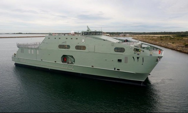 Austal Limited (Austal) is pleased to announce the RNOV Al Mubshir has been delivered to the Royal Navy of Oman. The on-time and on-budget delivery of the vessel cements Austal's reputation as a globally competitive defence prime contractor.