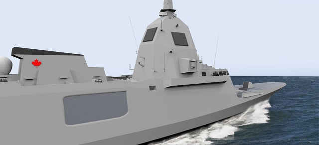 The Canadian Surface Combatant (CSC) is the Royal Canadian Navy procurement program that will replace the Iroquois class Destroyers and Halifax class Frigates with up to 15 new ships in about the mid-2020s. Navy Recognition contacted DCNS Canada's head, Olivier Casenave-Péré, to see where the French shipbuilder chances stand as the Canadian Government is considering changing course on the CSC program.