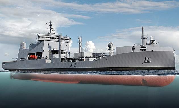 A new polar-class logistic support tanker for the Royal New Zealand Navy (RNZN) will be the first naval vessel to feature the Rolls-Royce award winning Environship design with wave piercing bow. It will replace HMNZS Endeavor, which has been in service for 30 years.