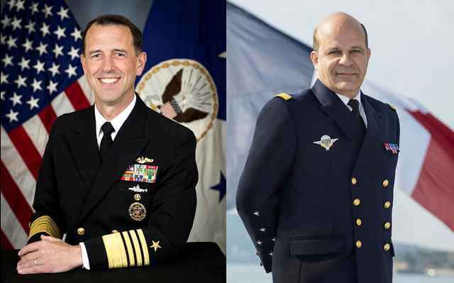 #6 - Interview with US Navy CNO Admiral Richardson and Chief of French Navy Admiral Prazuck