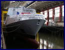 On September 17 2016, DCNS launched the very first GOWIND 2500 corvette for the Egyptian Navy. The float out took place at the Lorient naval shipyard one day after the launch of FREMM Bretagne for the French Navy. First steel cut of the Egyptian Navy corvette took place on April 16 2015. The delivery of the vessel is set for 2017 (less than four years after the signature of the contract).