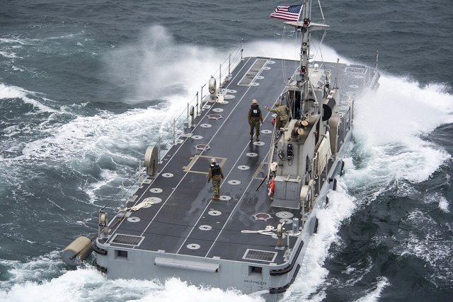 Improved U.S. Navy Lighterage System enables dynamic logistical support