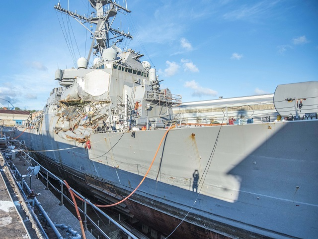 HII to Repair Guided Missile Destroyer USS Fitzgerald DDG 62