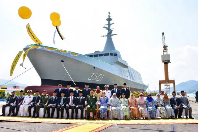 Boustead & Royal Malaysian Navy Hold Keel Laying Ceremony for 3rd Gowind Frigate LCS - SGPV
