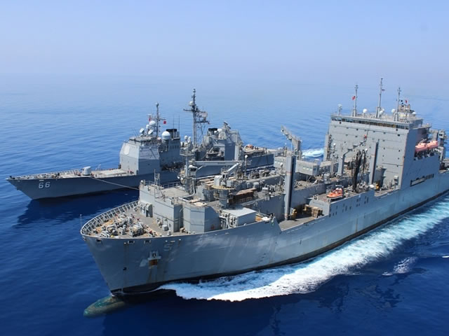 Military Sealift Command Ships L3 WESCAM MX 10MS EO Systems