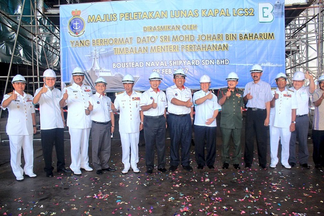Keel Laying 2nd Gowind LCS SGPV Malaysia TLDM 2