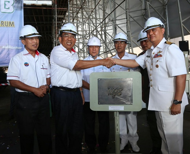 Keel Laying 2nd Gowind LCS SGPV Malaysia TLDM 3