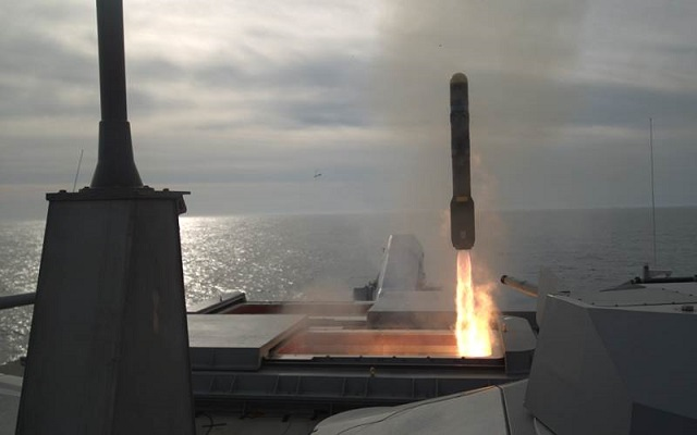 US Navy Hellfire SSM Test Freedom class LCS 2