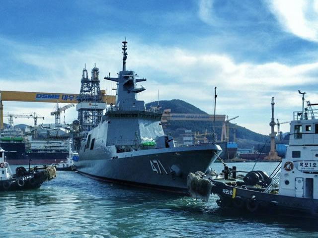 DSME Launched DW3000 Frigate Royal Thai Navy 2