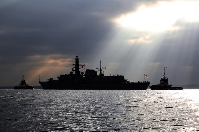 HMS Westminster Type 23 Frigate return to sea after upgrade 1