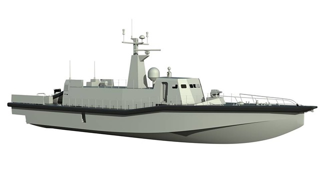 INTERMARINE HIGH SPEED POLYVALENT NAVAL VESSEL ITALIAN NAVY