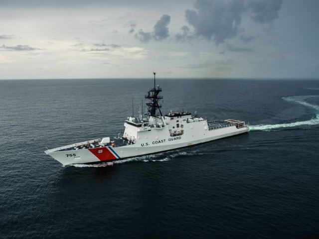 Munro US Coast Guard National Security Cutter NSC hii