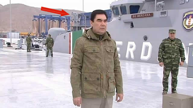 Turkmenistan Coast Guard Patrol Boat SIMBAD RC MBDA 2