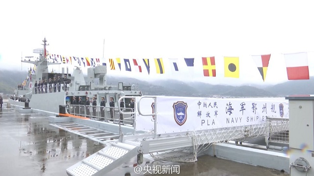Type 056A Corvette Ezhou 513 PLAN China