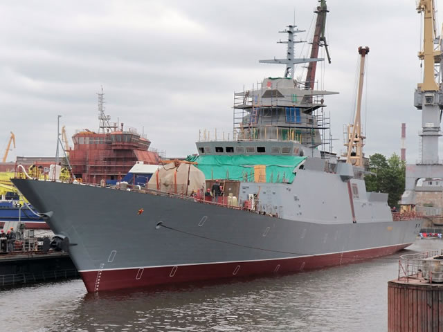 Project 20385 Gremyaschiy Corvette Russian Navy