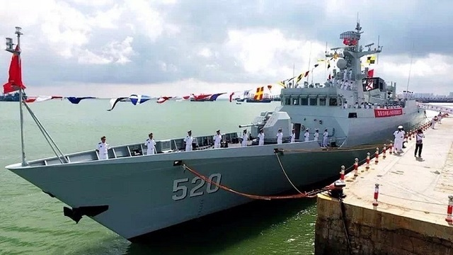 Type 056A Corvette Jiangdao class PLAN South Sea Fleet China 1