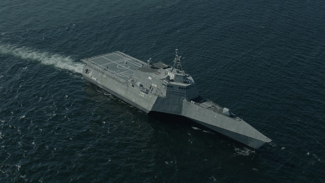 Independence class Littoral Combat Ship USS Montgomery LCS 8