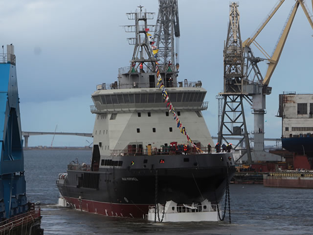 Ilya Muromets Icebreaker to Join Russian Navy Arctic Force by Year End