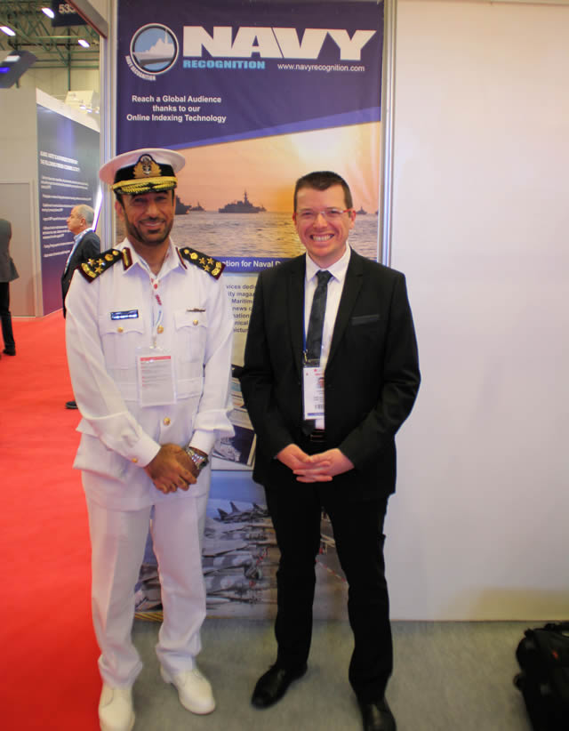 Senior representatives of DIMDEX 2018 visited IDEF 2017 in Istanbul