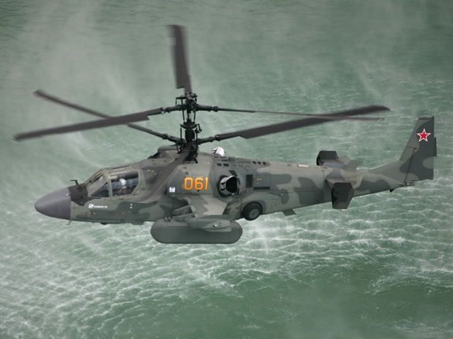 Official: Russia to deliver Ka-52K Katran Naval Helicopters to Egypt for Mistral-class LHD