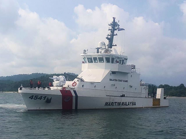 The First ASELSAN SMASH 30mm RWS Fitted on Malaysia Coast Guard NGPC