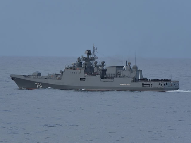"Russia to resume the construction of the ""last three"" Project 11356 frigates in 2018"