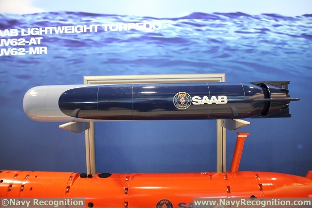 UDT 2017: Saab Unveils its New Lightweight Torpedo