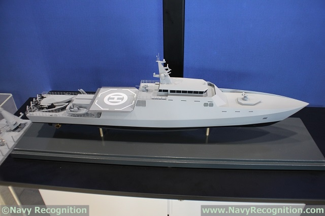 UDT 2017: Saab Rolls Out its MCMV 80 Scale Model