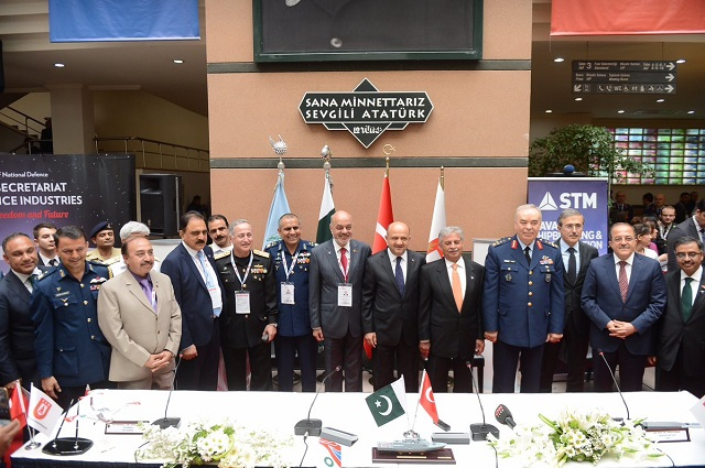 IDEF 2017: Turkey Signed LOI with Pakistan for the Procurement of 4 Corvettes