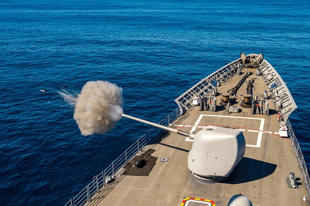 USS Mobile Bay testing updated AEGIS Baseline 9 3