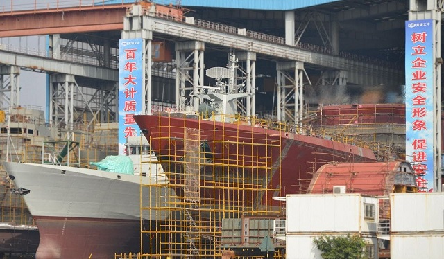 China 28th Type 054A Frigate for PLAN 1