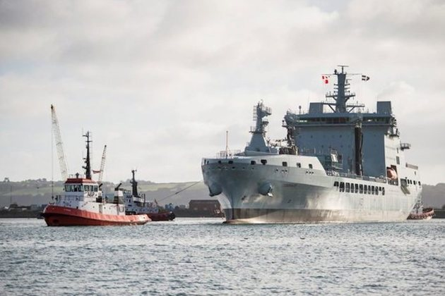 RFA Tiderace UK