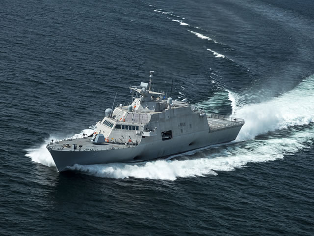 USS Little Rock US Navy LCS