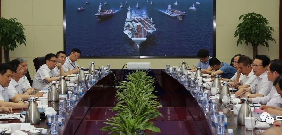 China Started Work on Third Aircraft Carrier Type 003