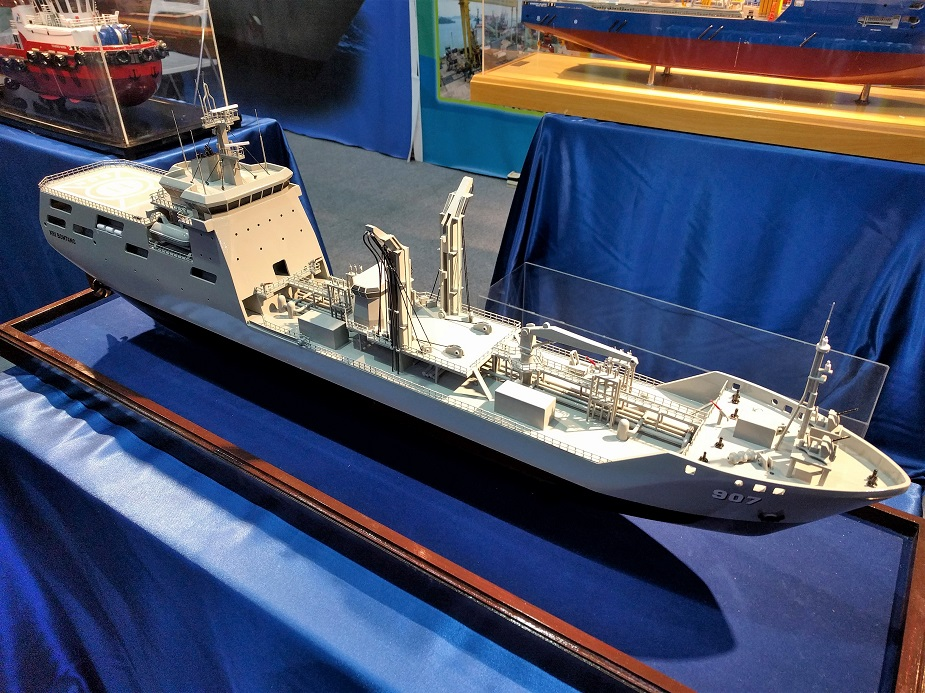 IndoDefence 2018 BMC Shipyard Shocases Latest Tanker for TNI AL 1