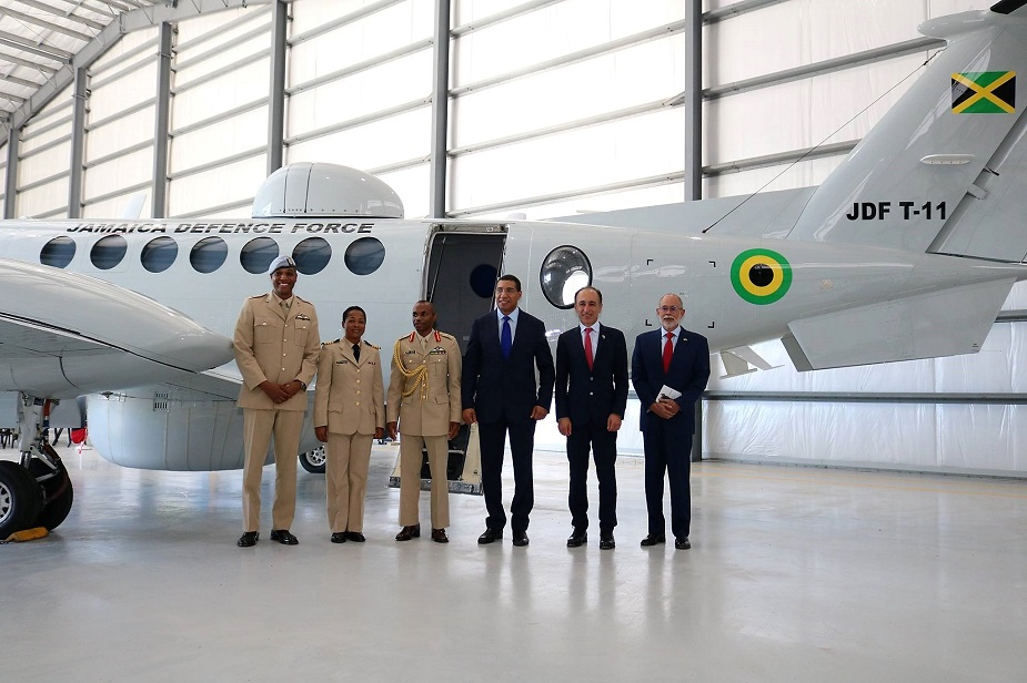 Jamaica Defence Force Commissions Maritime Surveillance Aircraft