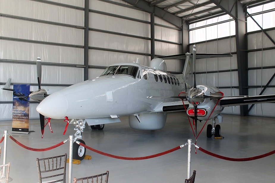 Jamaica Defence Force Commissions Maritime Surveillance Aircraft 2
