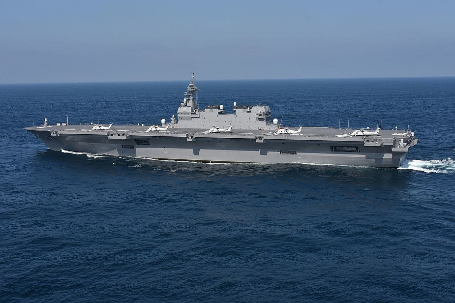 Japan Set to Procure F 35B STOVL Aircraft for JMSDF Izumo class helicopter destroyer