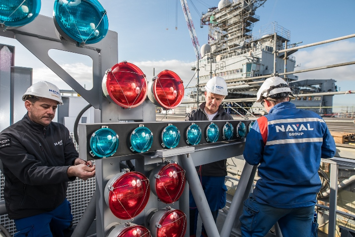 Naval Group Completes Mid Life Refit of the Charles de Gaulle CVN