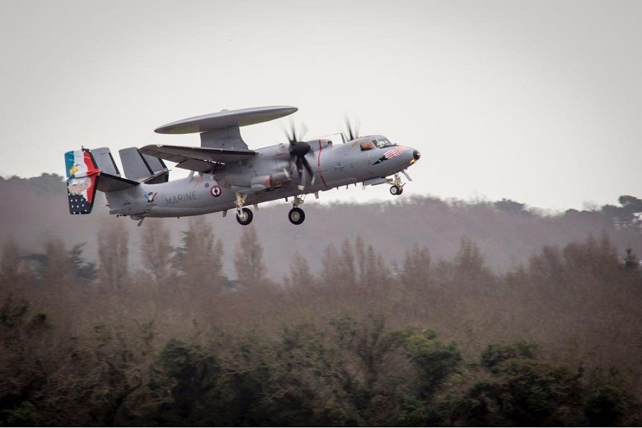 Chesapeake 2018 French Naval Aviation Trains with U.S. Navy 2