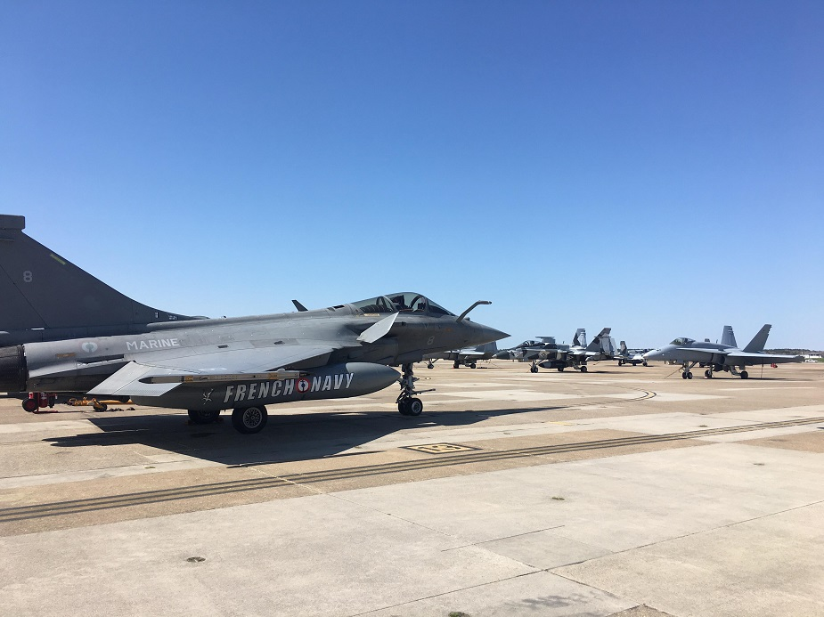 Chesapeake 2018 French Naval Aviation Trains with U.S. Navy 3