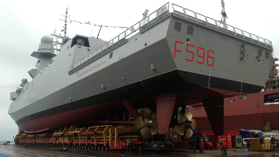 Fincantieri Delivered the 7th FREMM Frigate to Italian Navy