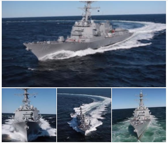 Flight IIA Technology Insertion Destroyer Thomas Hudner Completes Builders Trials DDG 116