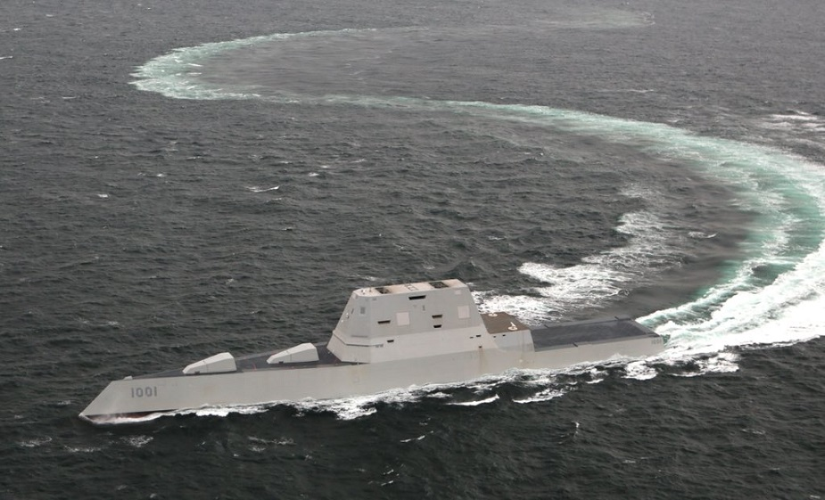 GD Bath Iron Works Delivered the future USS Michael Monsoor DDG 1001 to the US Navy