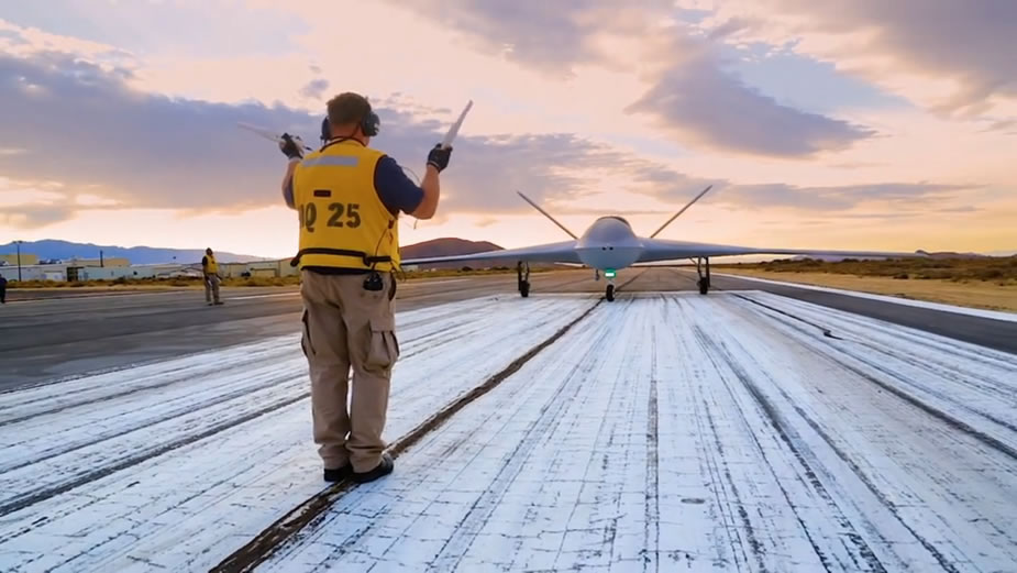 General Atomics Demonstrates Flight Deck Taxi Capability for MQ 25